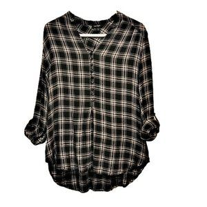 Lord & Taylor Farm Core with Surplus Sleeve Top